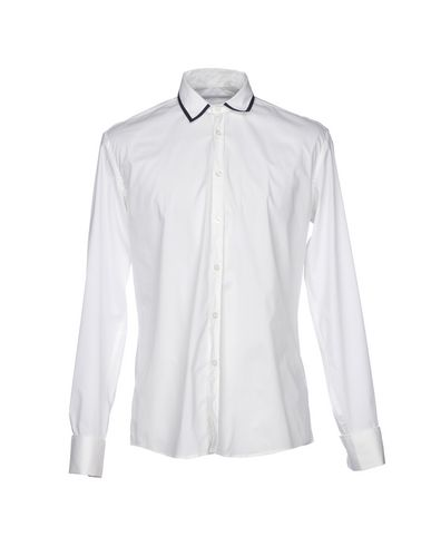 DANIELE ALESSANDRINI Einfarbiges Hemd