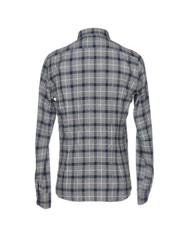 Mattei Tintoria Rutete Skjorte 954 salg topp kvalitet 19Gk5Ft