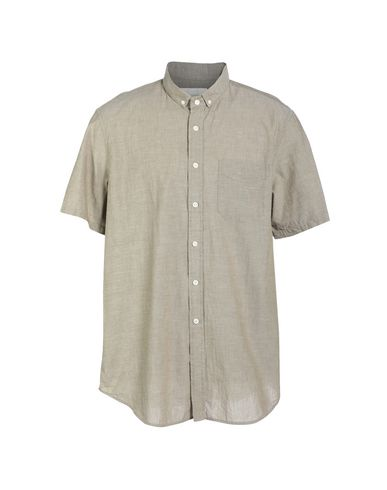OUTERKNOWN Solid Color Shirt in Military Green