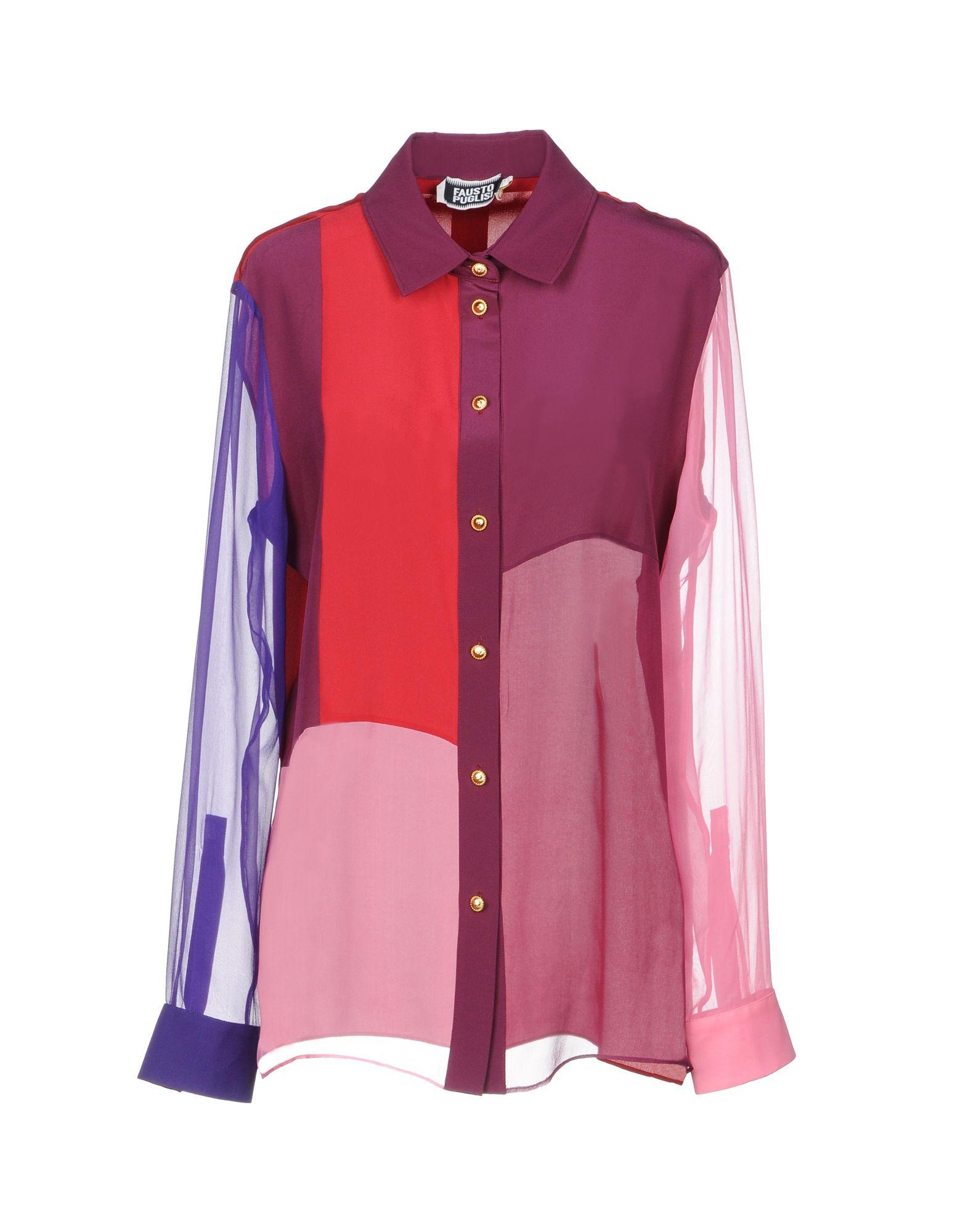 Camicie E Bluse Fantasia Fausto Puglisi Donna - Acquista online su 62bG26