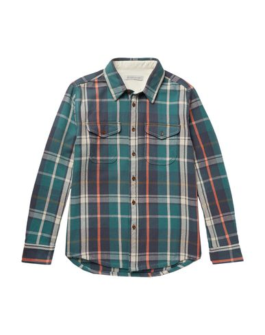 OUTERKNOWN Checked Shirt in Deep Jade