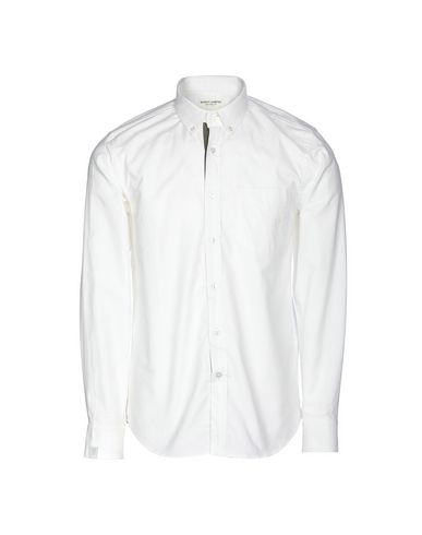 MARVY JAMOKE Solid Color Shirt in White