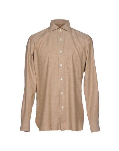 LUIGI BORRELLI NAPOLI Hemd mit Muster Top-Qualität Verkauf Online 11mTaSOR