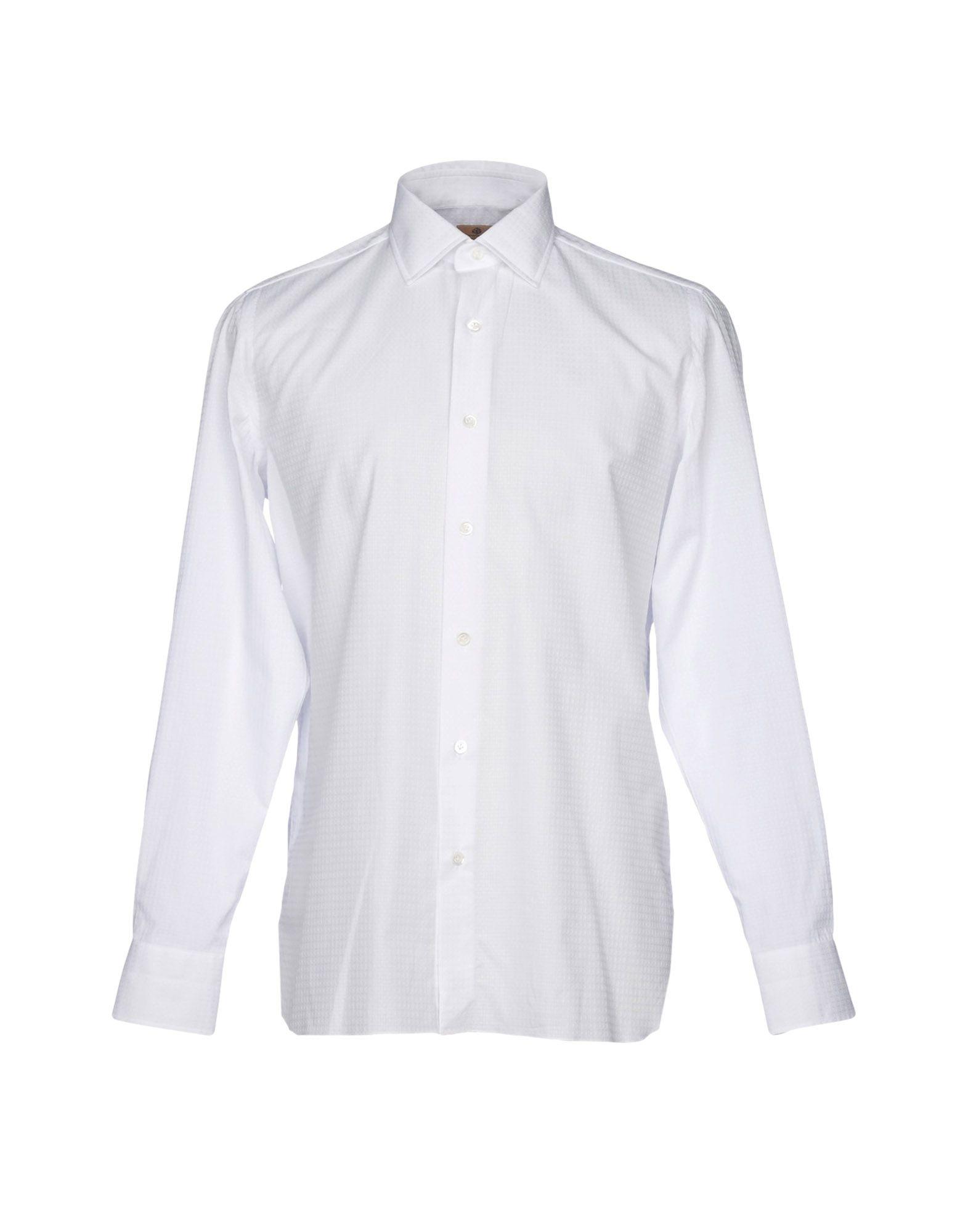 Camicia Tinta Unita Luigi Borrelli Napoli Donna - Acquista online su