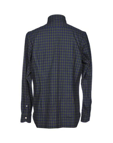Luigi Borrelli Napoli Camisa De Cuadros salg footlocker nye online gratis frakt salg y2FHh10tX