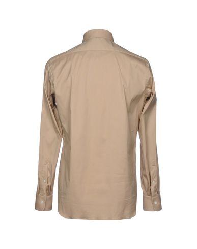 Luigi Borrelli Napoli Camisa Lisa knock off billig real billig salg wikien rabatt engros-pris limited edition online kxAWu