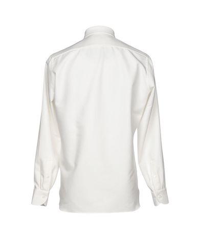 LUIGI BORRELLI NAPOLI Einfarbiges Hemd