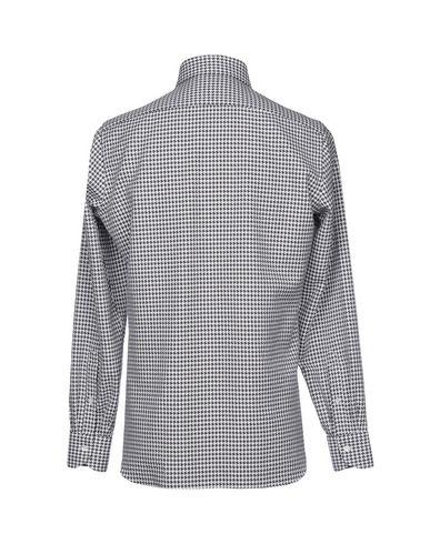 LUIGI BORRELLI NAPOLI Hemd mit Muster Auslass Nicekicks Billig 100% Authentisch Am8eSW