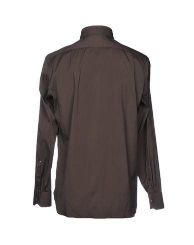 Luigi Borrelli Napoli Camisa Lisa billige priser pålitelig kjøpe billig ekte billig online klaring for billig oehU16RMB