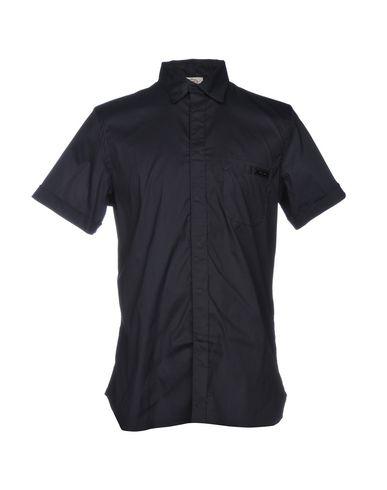 PRADA SPORT Einfarbiges Hemd Outlet Preiswert NRPMPXzm