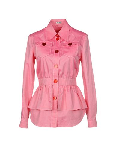 MIU MIU - Solid color shirts & blouses