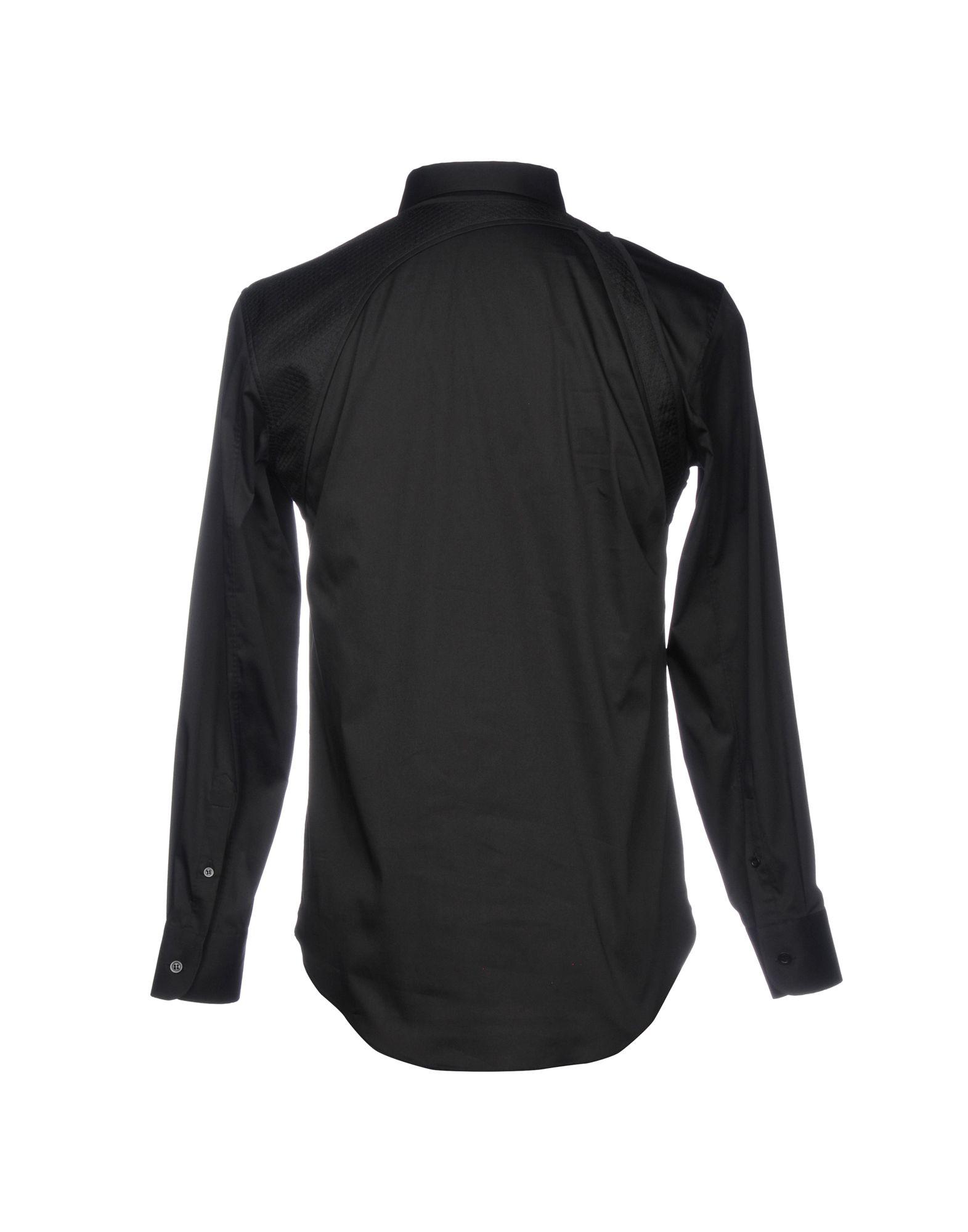 Camicia Tinta Unita Unita Tinta Alexander Mcqueen Uomo - 38747693OU 352d43