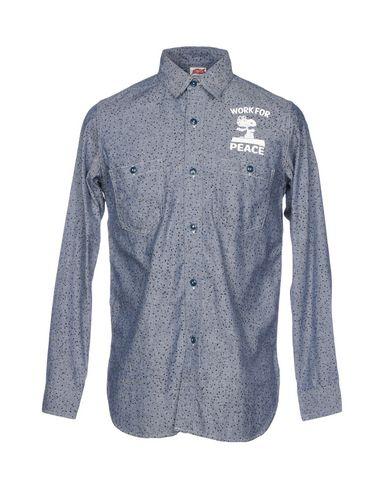 TSPTR Patterned Shirt in Blue