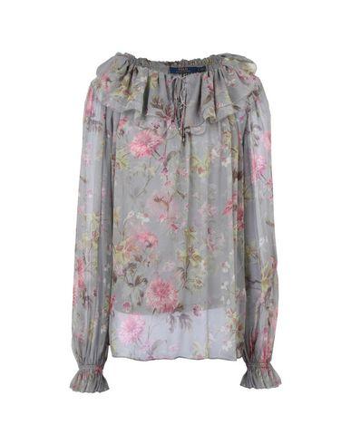 c18a71608 Polo Ralph Lauren Floral Printed Silk Shirt - Blouse - Women Polo ...