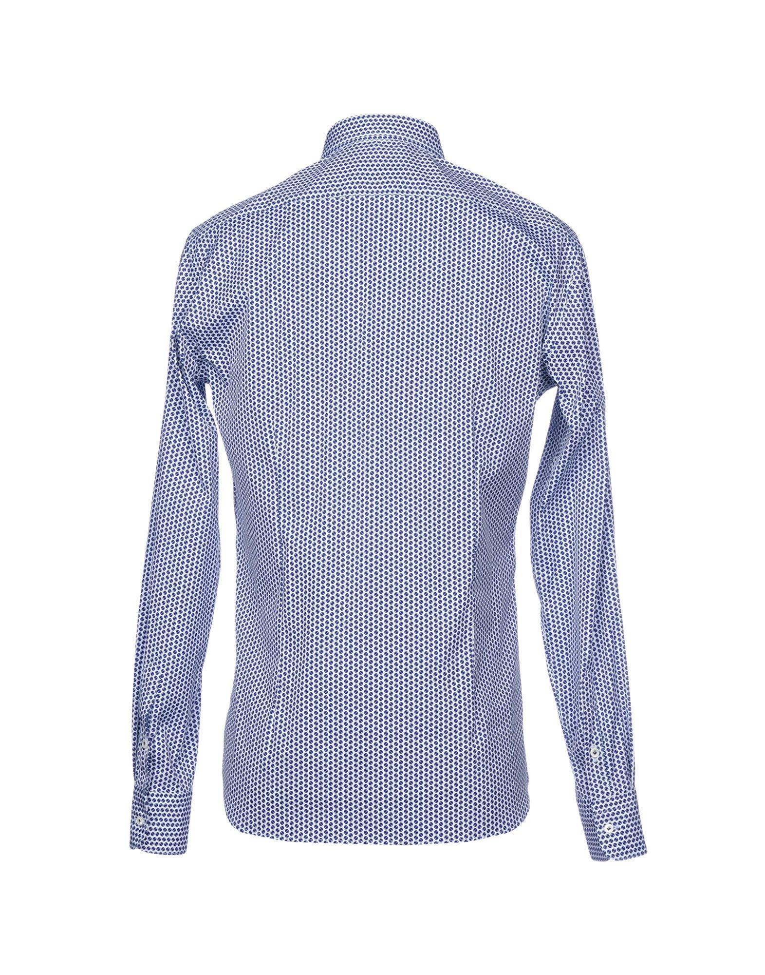Camicia Aglini Fantasia Aglini Camicia Uomo - 38749458AS 09117c