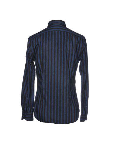 fabrikkutsalg Xacus Stripete Skjorter Manchester billig pris billig Manchester wJYtRh