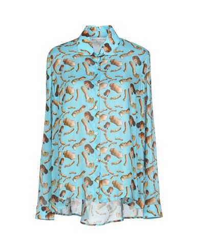 GIORGIA FIORE Patterned Shirts & Blouses in Sky Blue