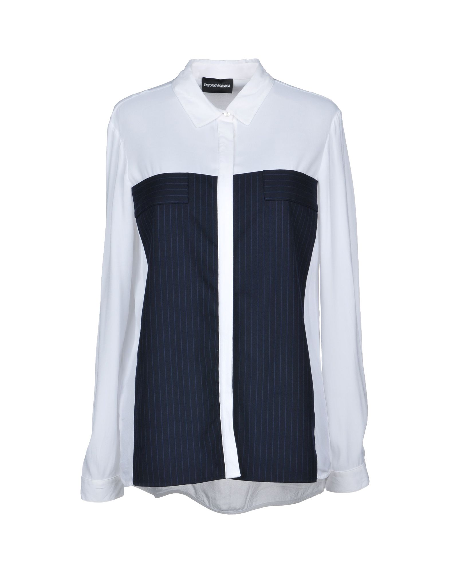 Emporio Armani Women Sale Yoox United States Andrew Smith Floral Printed Shirt Navy Xxl