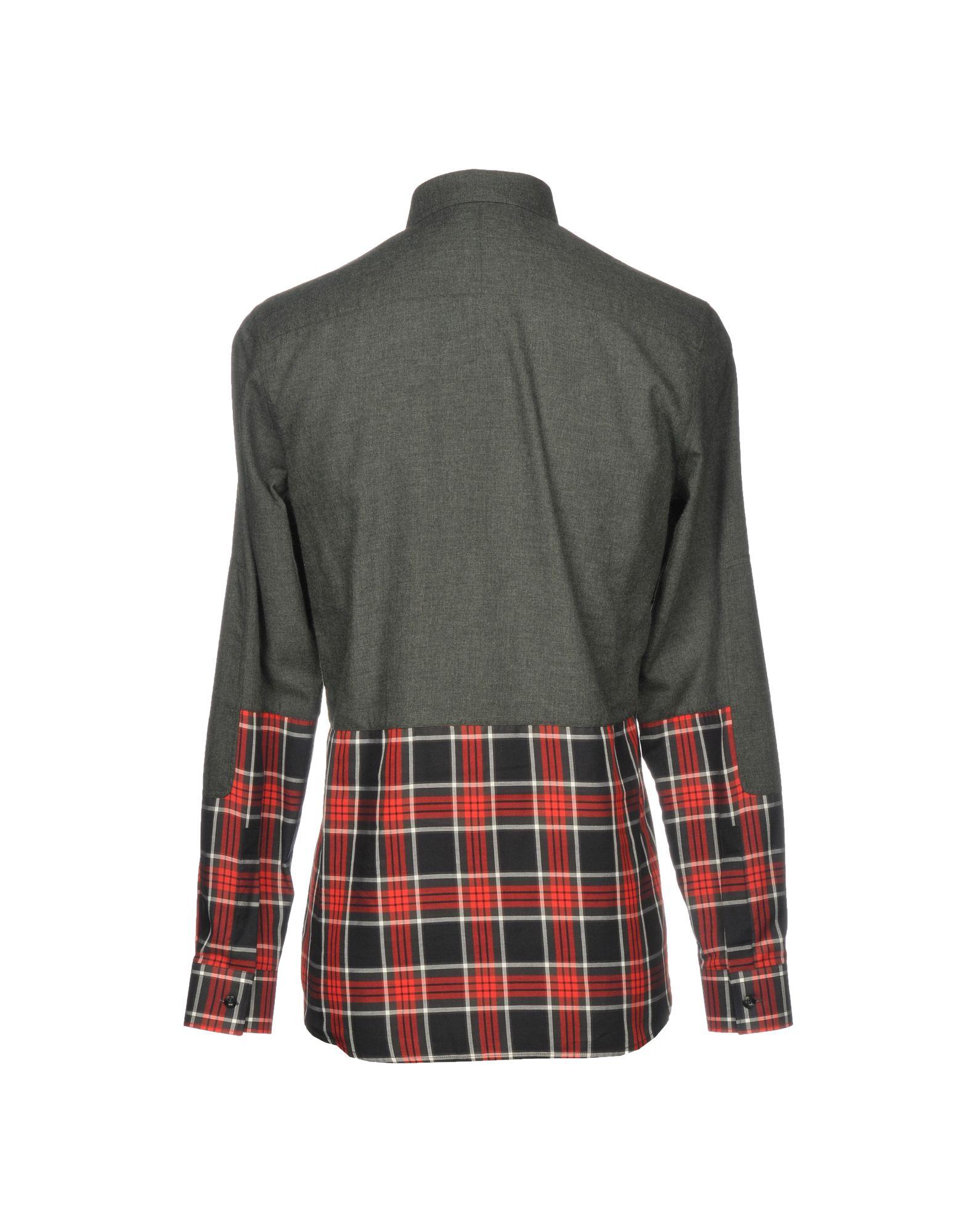 Camicia Tinta Tinta Camicia Unita Givenchy Uomo - 38750739LC 69f296