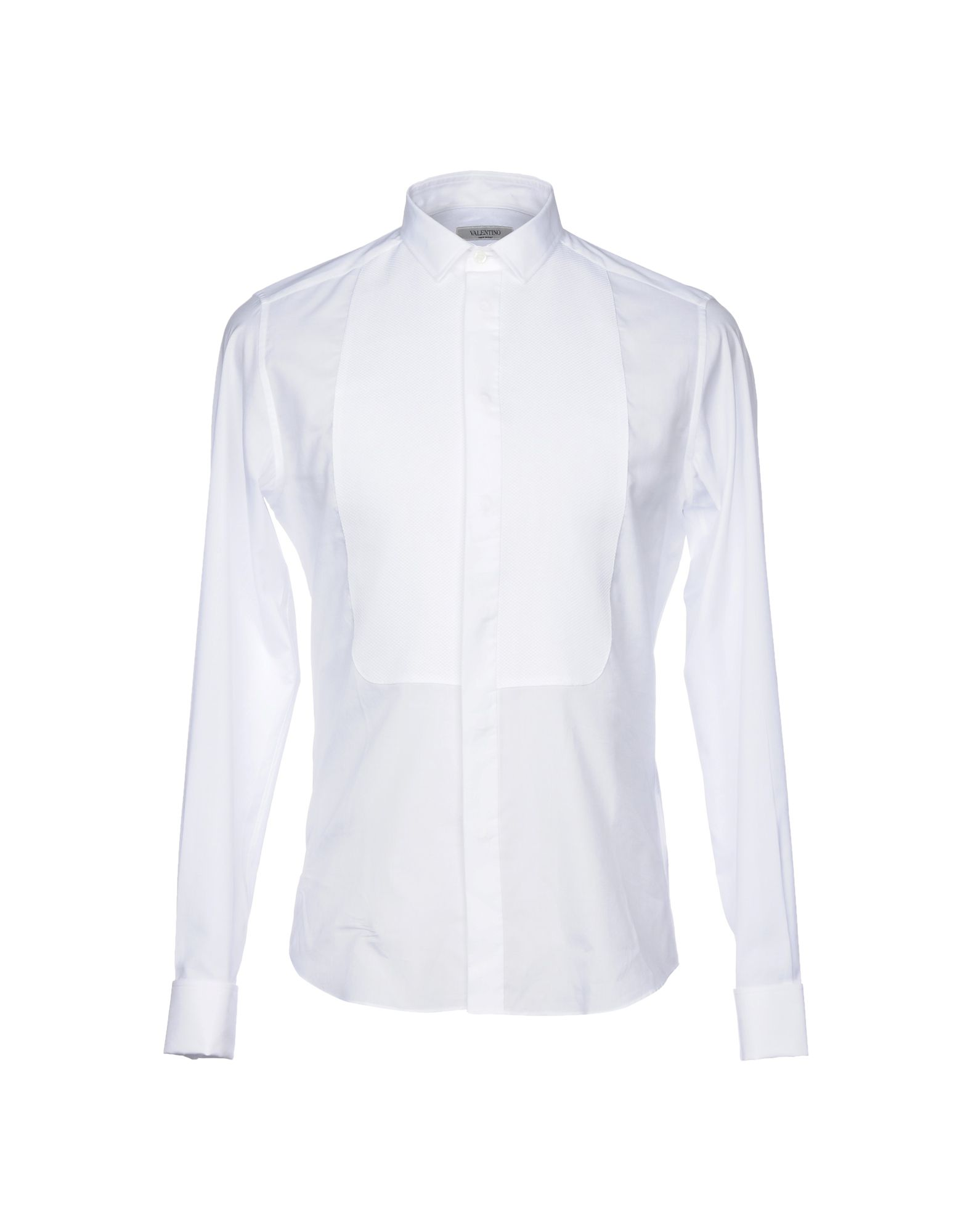 Camicia Tinta Unita Valentino Uomo - 38753156CP 38753156CP - ae5793