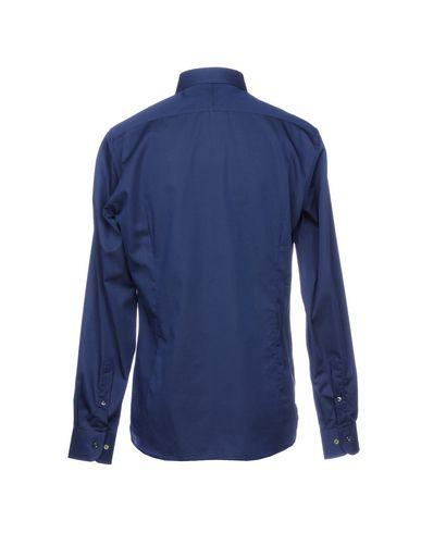 Inghirami By 0575 Bleu Couleur Foncé De Chemise Unie 5HwOwq