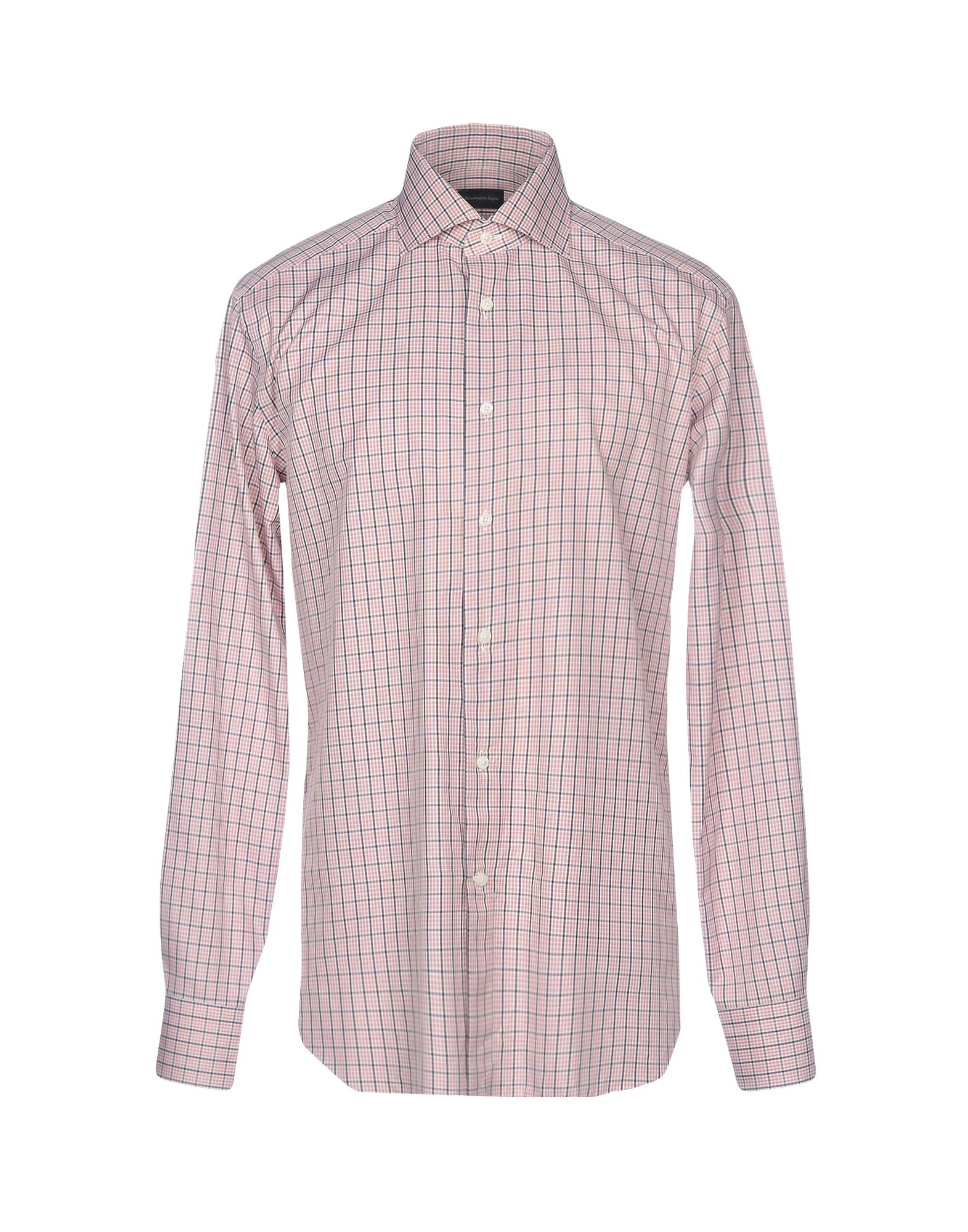 Ermenegildo Zegna Checked Shirt Men Ermenegildo Zegna Checked