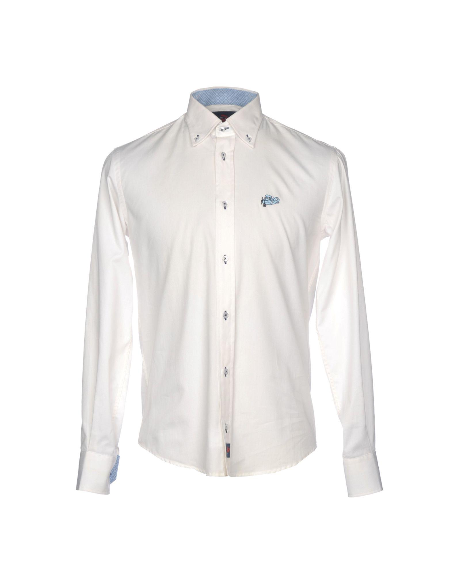 Camicia Camicia Tinta Unita Aviadore uomo - 38756946UN