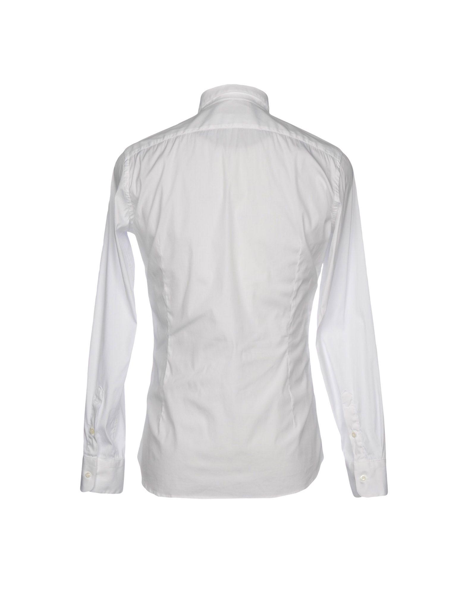 Camicia Tinta Unita Aglini Aglini Unita Uomo - 38757235MX ed26d5