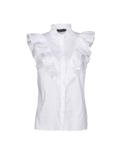 SET Solid Color Shirts & Blouses in White