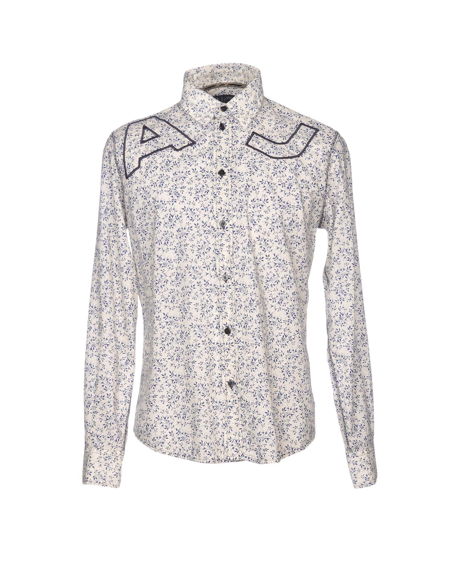 Camicia Fantasia Armani Jeans Uomo - 38757653FO 38757653FO 38757653FO 75bd67