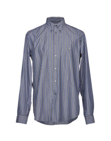39d95fa47a35b Lacoste Striped Shirt - Men Lacoste Striped Shirts online on YOOX ...