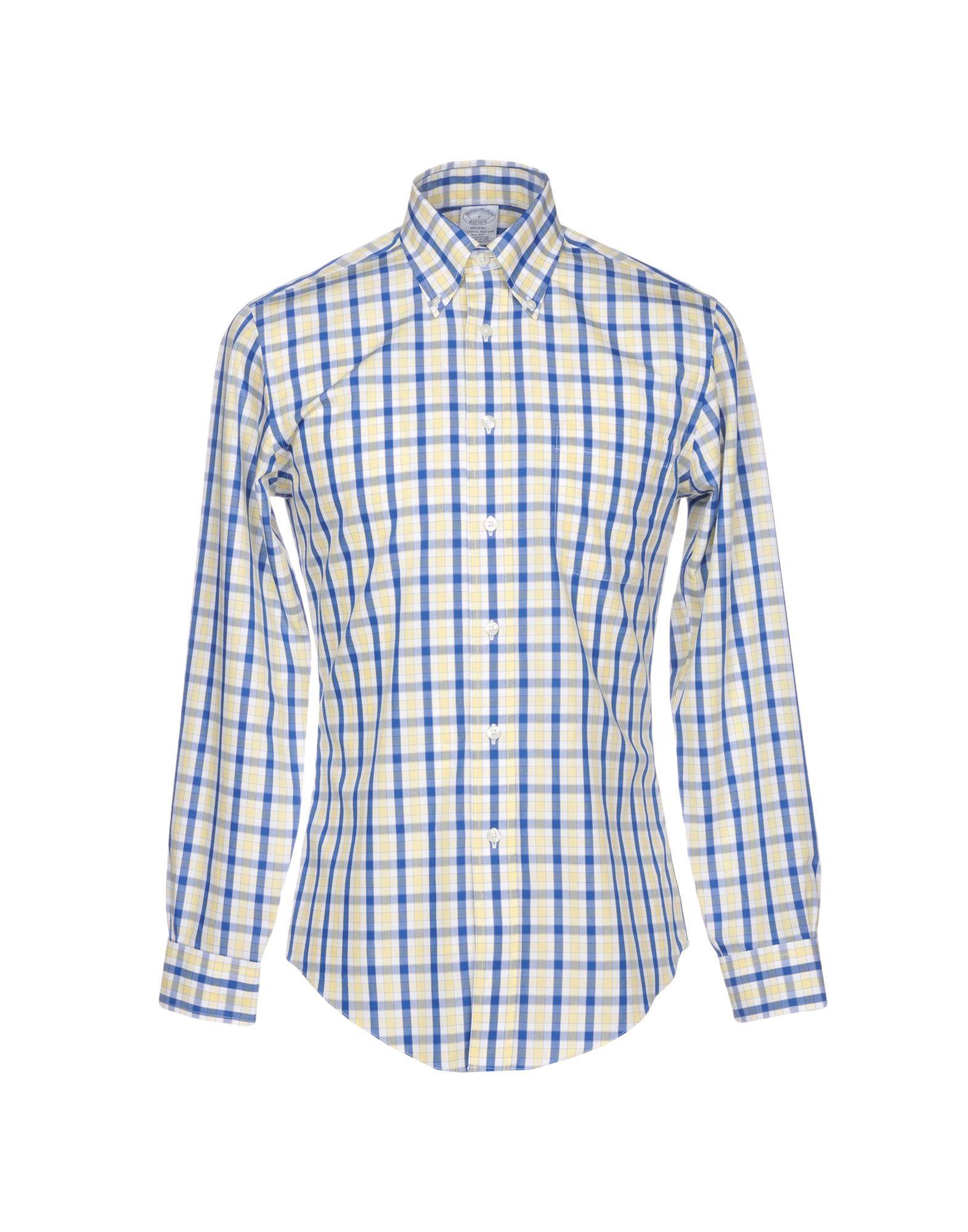 Camicia Camicia Camicia A Quadri Brooks Brossohers uomo - 38757997QF b6f