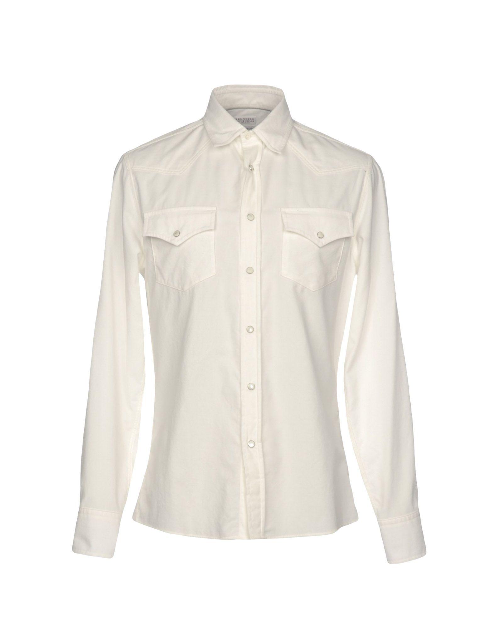 Camicia Tinta Unita - Brunello Cucinelli Uomo - Unita 38759148ON ef5dcd