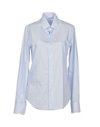 ROBERT FRIEDMAN Striped Shirt in Azure