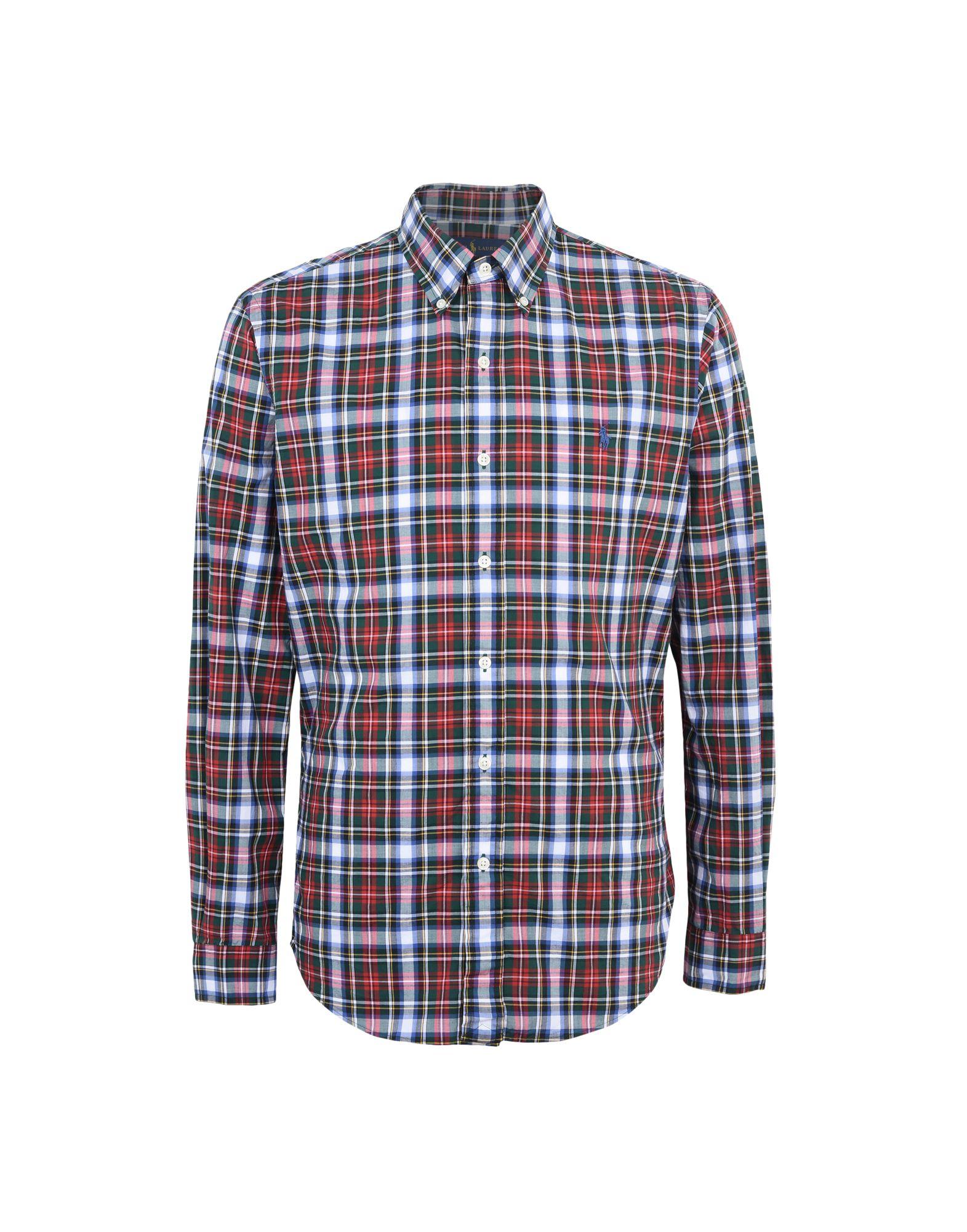 Camicia A Quadri Polo Ralph Lauren Lauren Lauren Slim Fit Poplin Shirt - uomo - 38759500KC af7
