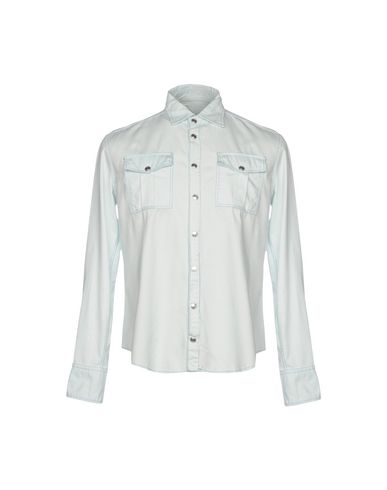 15dfe174 Pierre Balmain Denim Shirt - Men Pierre Balmain Denim Shirts online ...