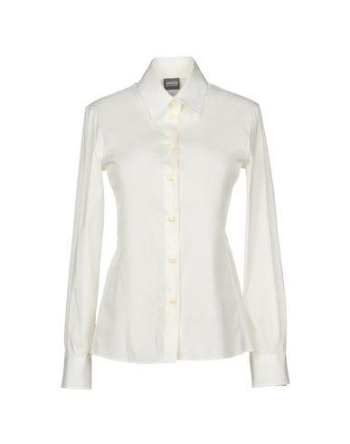 Armani Collezioni Solid Color Shirts & Blouses   Shirts by Armani Collezioni
