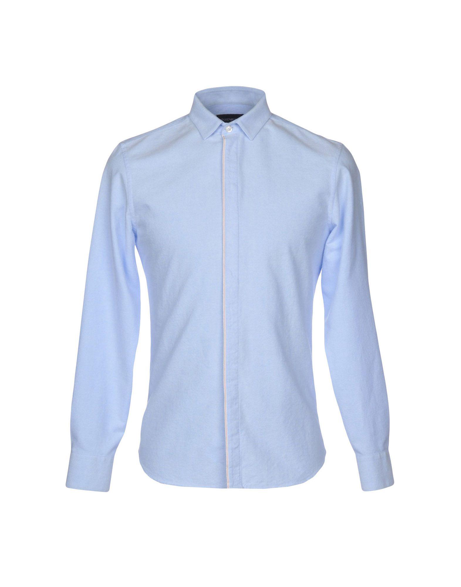 Camicia Tinta Unita Emporio Armani Uomo 38765264AH - 38765264AH Uomo 124187