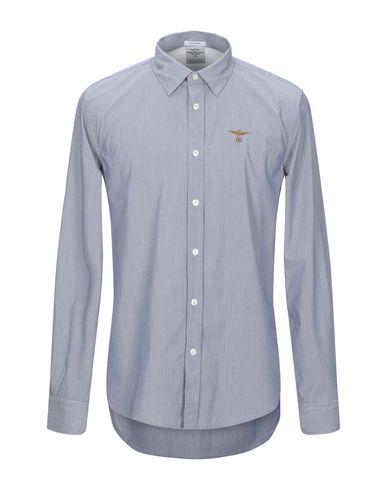 l'ultimo 333dd 1c8c4 AERONAUTICA MILITARE Camicia a righe - Camicie | YOOX.COM