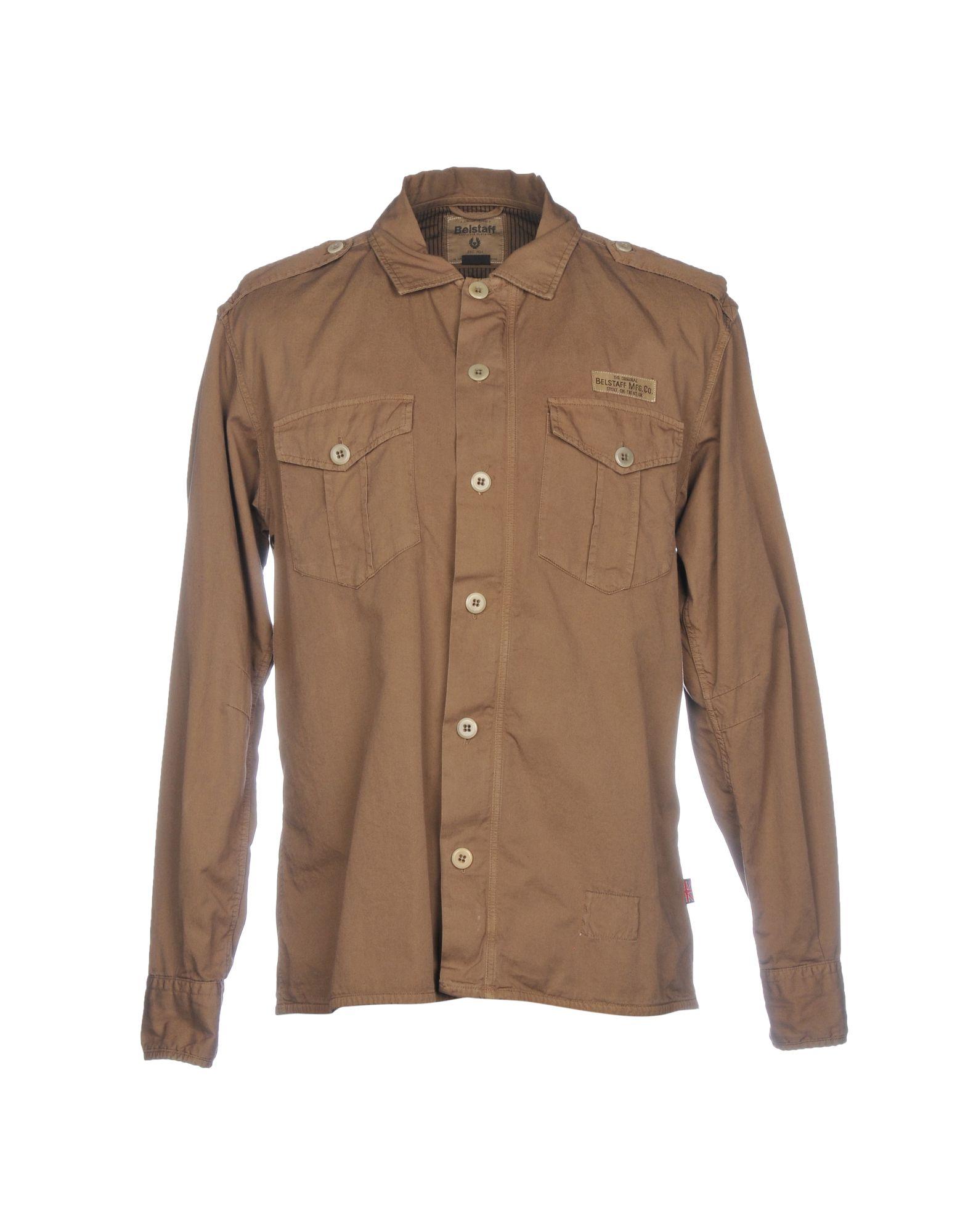 Camicia Tinta Unita Unita Tinta Belstaff Uomo - 38767628KL 5ae5b9