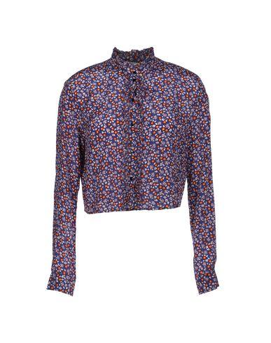 TOPSHOP UNIQUE Patterned Shirts & Blouses in Mauve