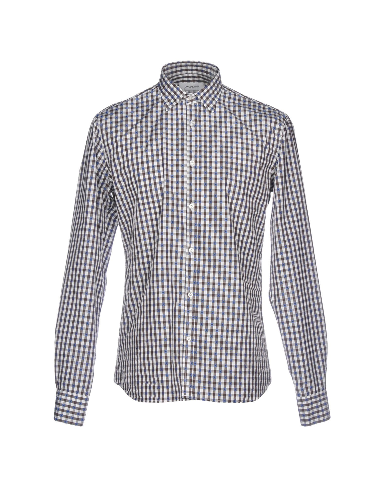 Camicia Camicia A Quadri Aglini uomo - 38768308NA