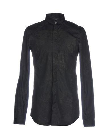 MANUEL MARTE Patterned Shirt in Black