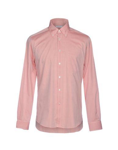 BOGLIOLI - Solid colour shirt