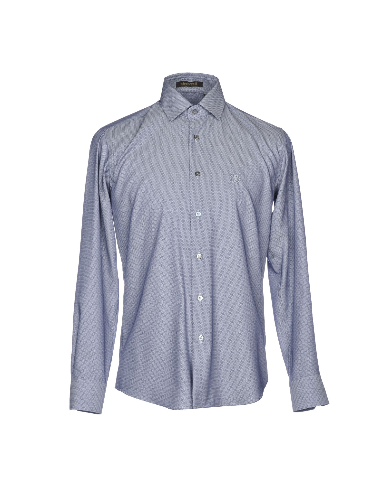 1a123c4e Roberto Cavalli Patterned Shirt - Men Roberto Cavalli Patterned Shirts  online on YOOX United States - 38770444IC