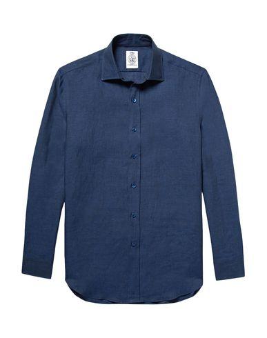 CORDINGS Linen Shirt in Dark Blue