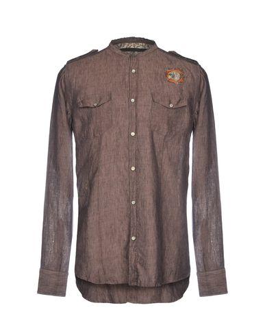 88e323fb9fb MESSAGERIE Λινό πουκάμισο - Πουκαμισα | YOOX.COM