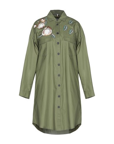 CHAMONIX Solid Color Shirts & Blouses in Green