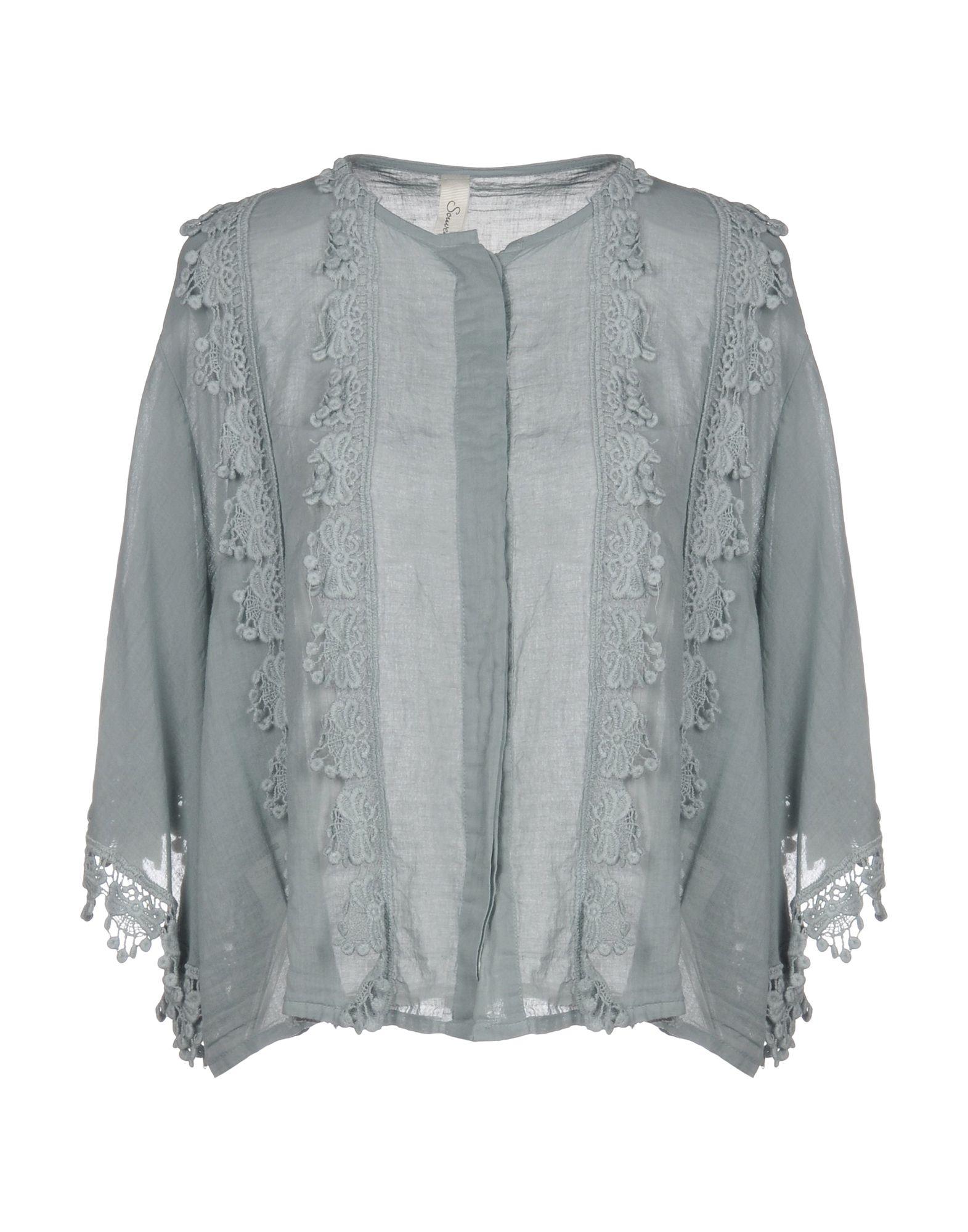 Camicie E bluse In Pizzo Pizzo Souvenir donna - 38774544MH  Rabatte und mehr