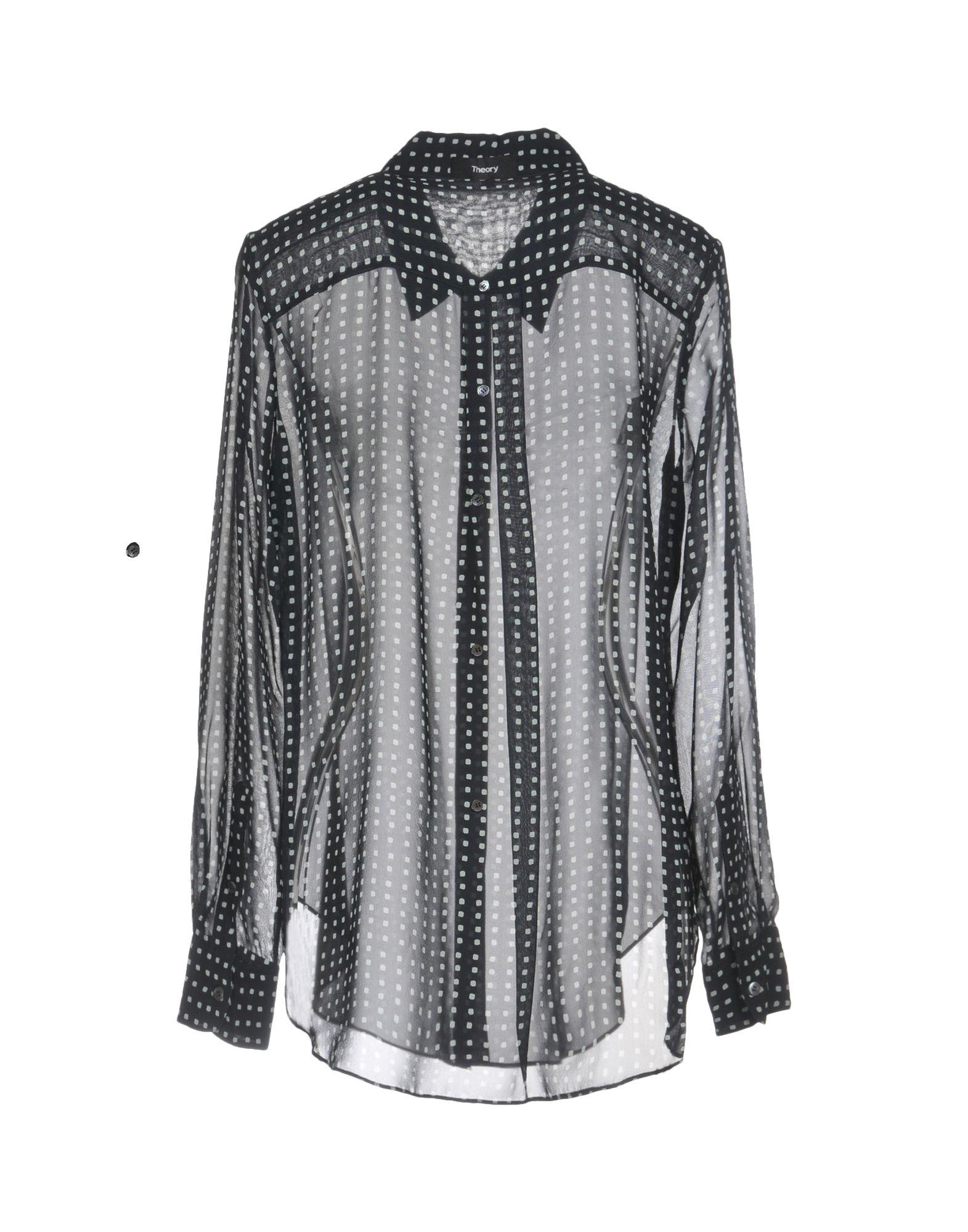 1714dbd504f Рубашки И Блузки С Рисунком Для Женщин от Theory - YOOX Россия